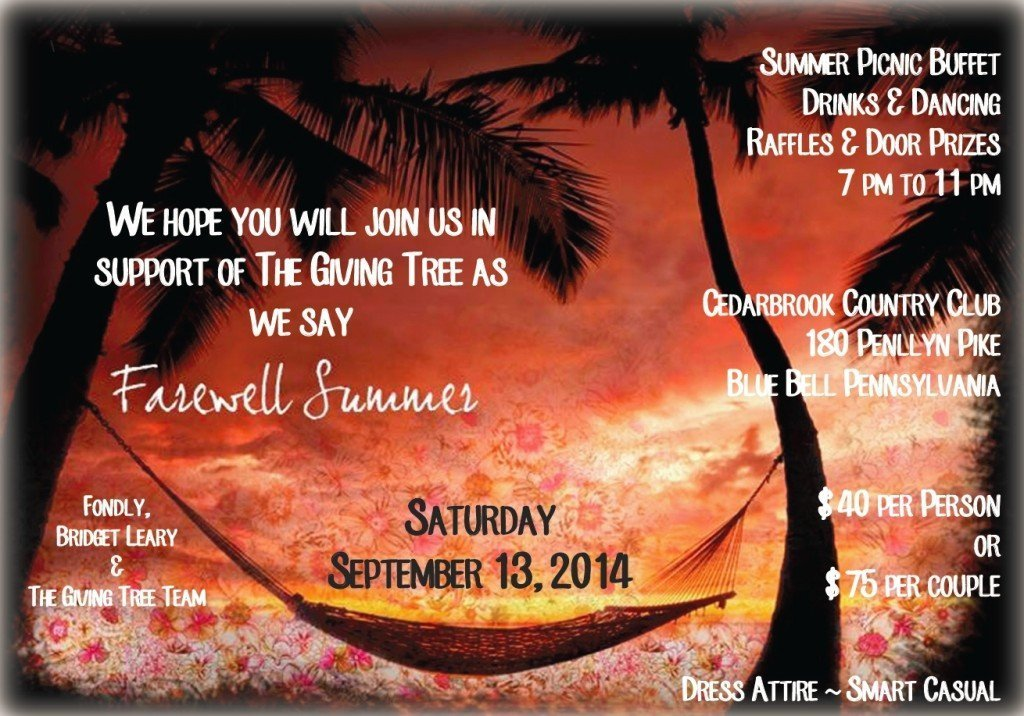 Summer Picnic Buffet Invitation